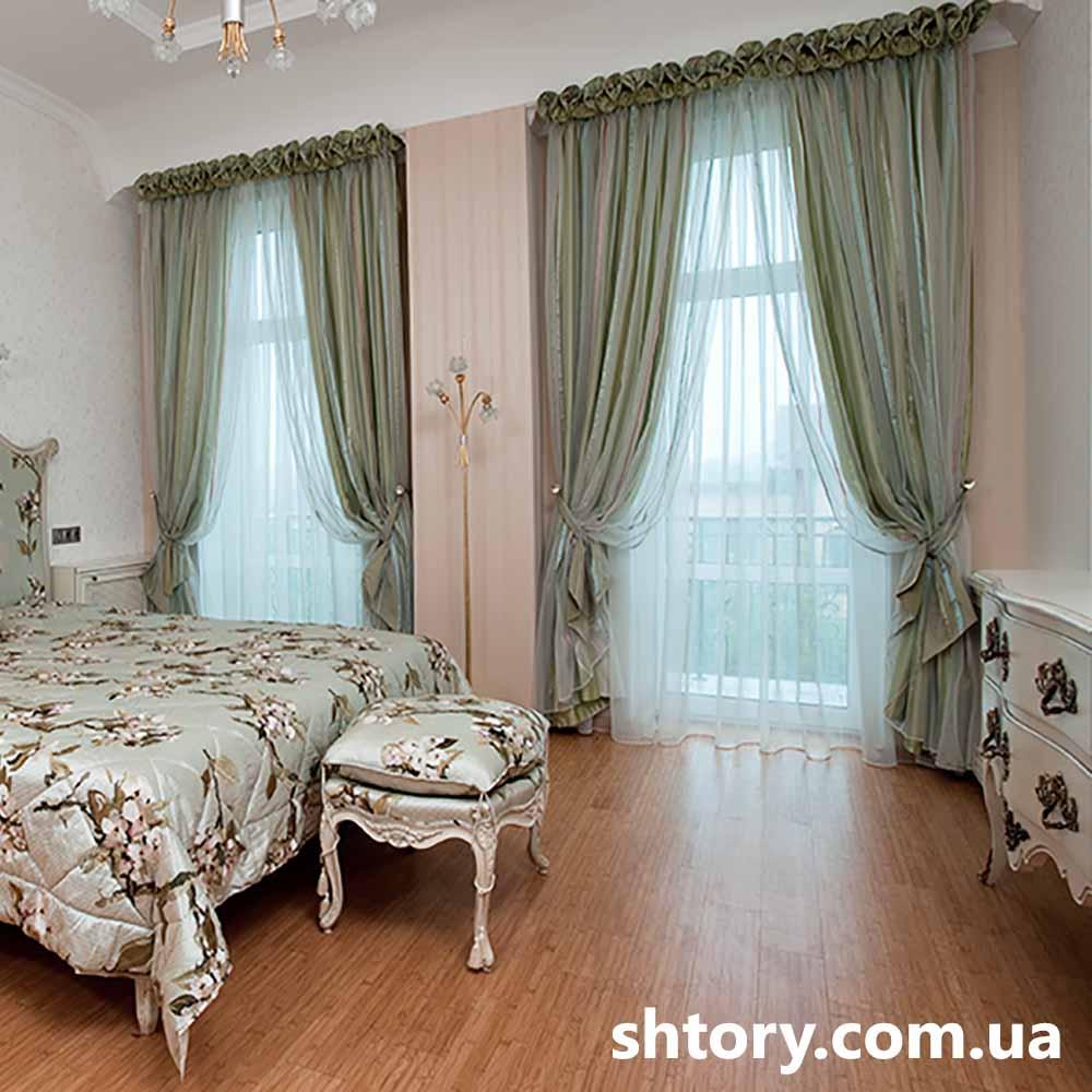 Шторы для женской спальни Киев