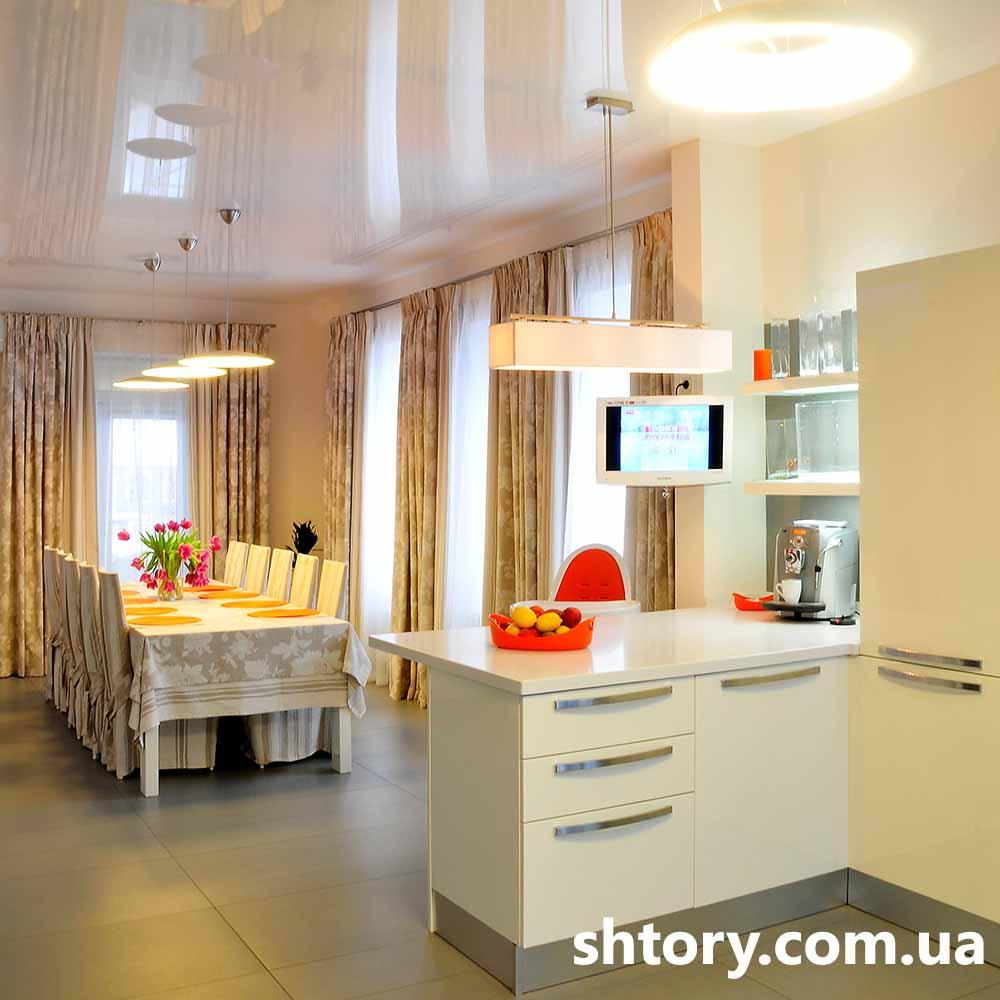 Шторы для столовой Киев